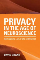 Omslag - Privacy in the Age of Neuroscience