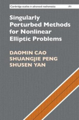 Omslag - Singularly Perturbed Methods for Nonlinear Elliptic Problems