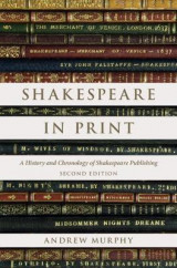 Omslag - Shakespeare in Print