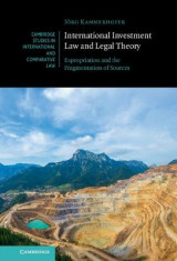 Omslag - International Investment Law and Legal Theory