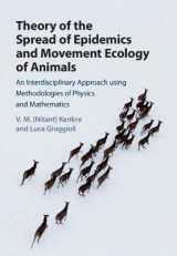 Omslag - Theory of the Spread of Epidemics and Movement Ecology of Animals