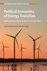 Omslag - Political Economies of Energy Transition
