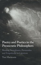 Omslag - Poetry and Poetics in the Presocratic Philosophers