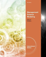 Omslag - Management Science Modeling, International Edition (with Essential Textbook Resources Printed Access Card, Intl. Edition)