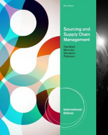 Sourcing and Supply Chain Management av James Patterson, Robert M. Monczka, Robert B. Handfield og Larry C. Giunipero (Heftet)