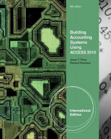 Omslag - Building Accounting Systems Using Access 2010