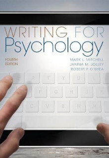Writing for Psychology av Robert O'Shea, Janina Jolley og Mark Mitchell (Heftet)