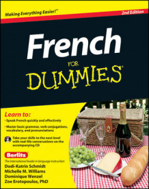 French for Dummies, 2nd Edition with CD av Zoe Erotopoulos, Dodi-Katrin Schmidt, Michelle M. Williams og Dominique Wenzel (Heftet)