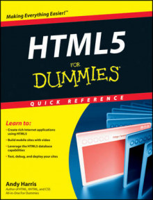 HTML5 For Dummies Quick Reference av Andy Harris (Heftet)