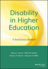 Omslag - Disability in Higher Education