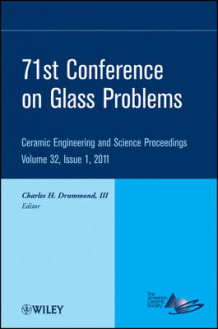 71st Glass Problems Conference av ACerS (American Ceramic Society) (Innbundet)