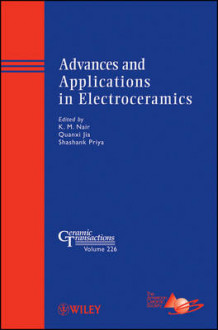 Advances and Applications in Electroceramics (Innbundet)