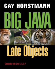 Big Java Late Objects av Cay S. Horstmann (Heftet)