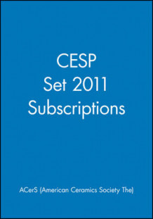 CESP Set 2011 Subscriptions av ACerS (American Ceramic Society) (Innbundet)