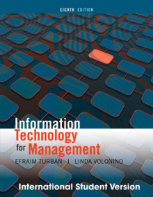 Information Technology Management av Efraim Turban og Linda Volonino (Heftet)