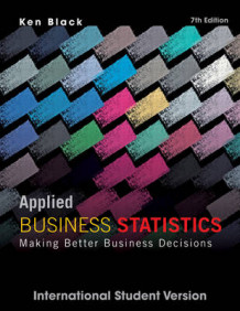 Applied Business Statistics av Ken Black (Heftet)