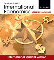 Introduction to International Economics 3E International Student Version av Dominick Salvatore (Heftet)