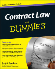 Contract Law For Dummies av Consumer Dummies og Scott J. Burnham (Heftet)
