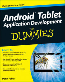 Android Tablet Application Development For Dummies av Gerhard Franken og Donn Felker (Heftet)