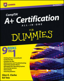CompTIA A+ Certification All-in-One For Dummies av Glen E. Clarke og Edward Tetz (Heftet)