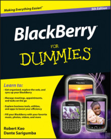 BlackBerry For Dummies av Robert Kao og Dante Sarigumba (Heftet)