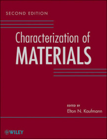 Characterization of Materials (Innbundet)