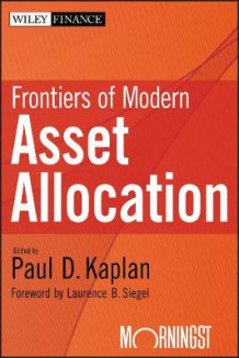 Frontiers of Modern Asset Allocation (Innbundet)