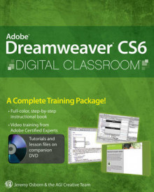 Adobe Dreamweaver CS6 Digital Classroom av Jeremy Osborn og AGI Creative Team (Heftet)