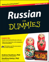 Omslag - Russian For Dummies