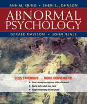 Abnormal Psychology av Gerald C Davison, Sheri L Johnson, Ann M Kring og John M Neale (Perm)