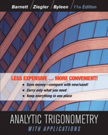 Analytic Trigonometry with Applications av Raymond A Barnett, Michael R Ziegler, Karl E Byleen og Dave Sobecki (Perm)