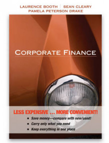 Corporate Finance av Laurence Booth, Sean Cleary og Pamela Paterson Drake (Perm)
