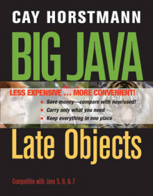 Big Java Late Objects av Cay S Horstmann (Perm)