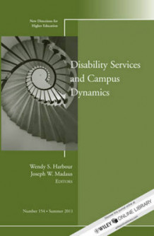 Disability and Campus Dynamics Summer 2011 av Higher Education (HE) (Heftet)