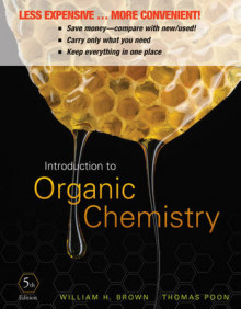 Introduction to Organic Chemistry av William H Brown og Thomas Poon (Perm)