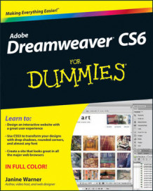 Dreamweaver Cs6 for Dummies av Janine Warner (Heftet)