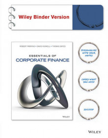 Essentials of Corporate Finance, Binder Ready Version av Robert Parrino (Perm)