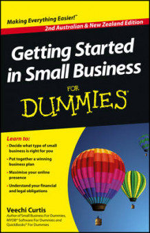 Getting Started in Small Business for Dummies av Veechi Curtis (Heftet)