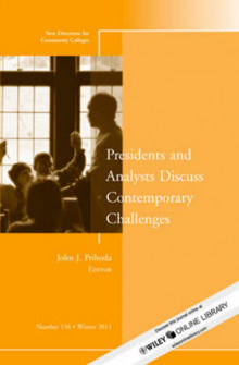 Presidents and Analysts Discuss Contemporary Challenges av CC (Community Colleges) (Heftet)