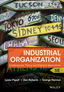 Industrial Organization av Lynne Pepall, Dan Richards og George Norman (Heftet)