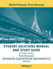 Student Solutions Manual Advanced Engineering Mathematics: Volume 2 av Erwin Kreyszig (Heftet)