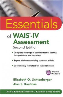 Essentials of WAIS-IV Assessment av Elizabeth O. Lichtenberger og Alan S. Kaufman (Heftet)