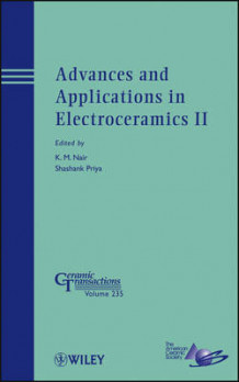 Advances and Applications in Electroceramics II (Innbundet)