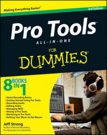 Pro Tools All-in-One For Dummies av Jeff Strong (Heftet)