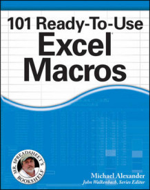 101 Ready-to-use Excel Macros av Michael Alexander (Heftet)
