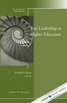 Peer Leadership in Higher Education av Higher Education (HE) (Heftet)