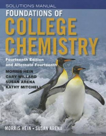Foundations of College Chemistry Solutions Manual av Morris Hein (Heftet)