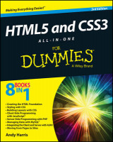 Omslag - HTML5 and CSS3 All-in-One for Dummies