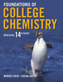 Foundations of College Chemistry Alternate 14E av Morris Hein (Heftet)