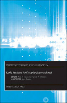 Early Modern Philosophy Reconsidered (Heftet)